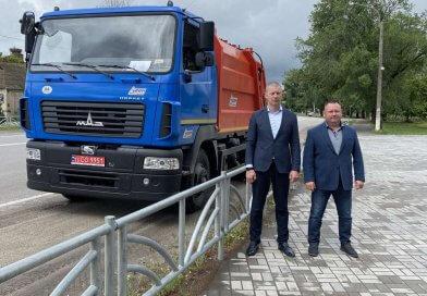 Комишуваською селищною радою придбано новий сміттєвоз