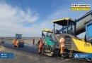Велике Будівництво: на автодорозі міжнародного значення М-14 стартували роботи з влаштування верхнього шару асфальтобетонного покриття
